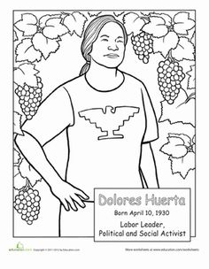 236x304 Cesar Chavez Day Coloring Pages Coloring Page For Kids