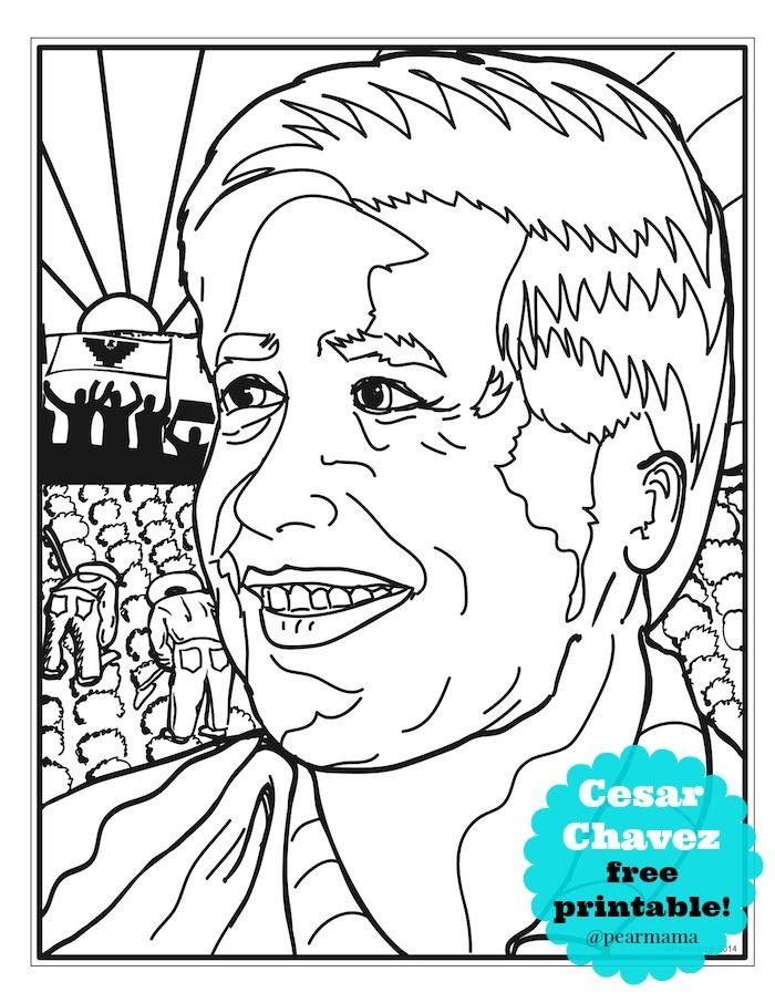 700x906 Printable Celebrating Cesar Chavez Cesar Chavez, Free Printable