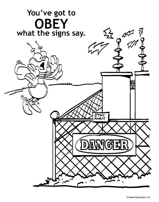559x710 Free Coloring Pages Of Electricity, Electricity Colouring Pages