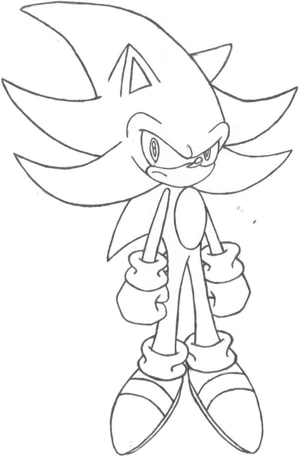 600x916 Darkspine Sonic Coloring Pages The Coloring Pages Random