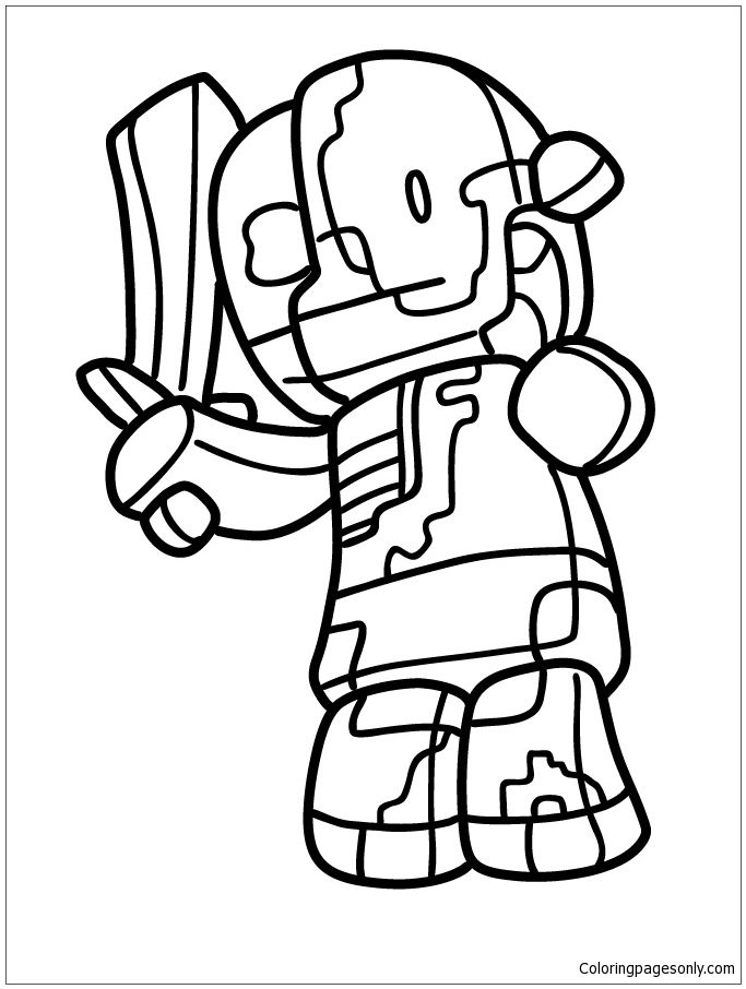 683x906 Best Minecraft Coloring Page Images On Children