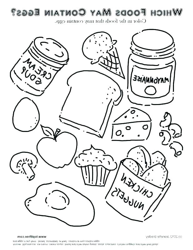 618x800 Free Printable Food Chain Coloring Pages Safety And Fire Fuhrer
