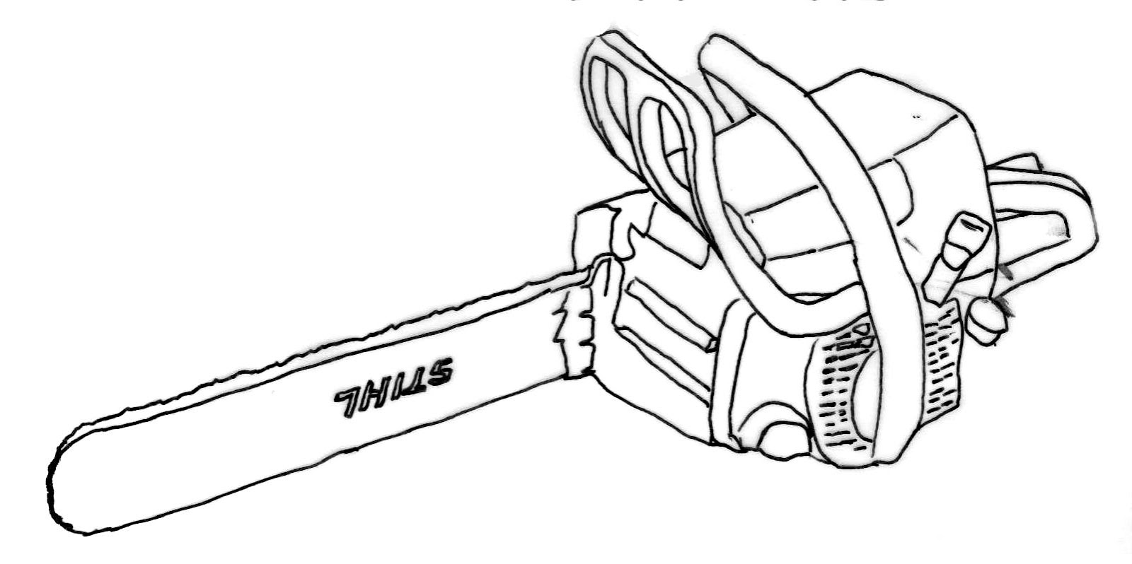 1600x798 Chainsaw Coloring Pages