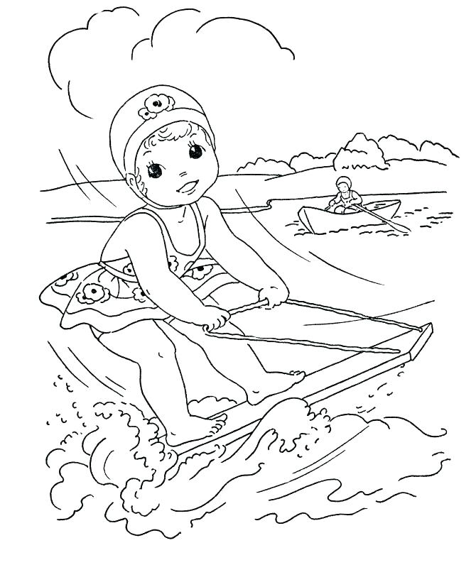 670x820 Open Season Coloring Pages Click The The Beaver With A Chainsaw
