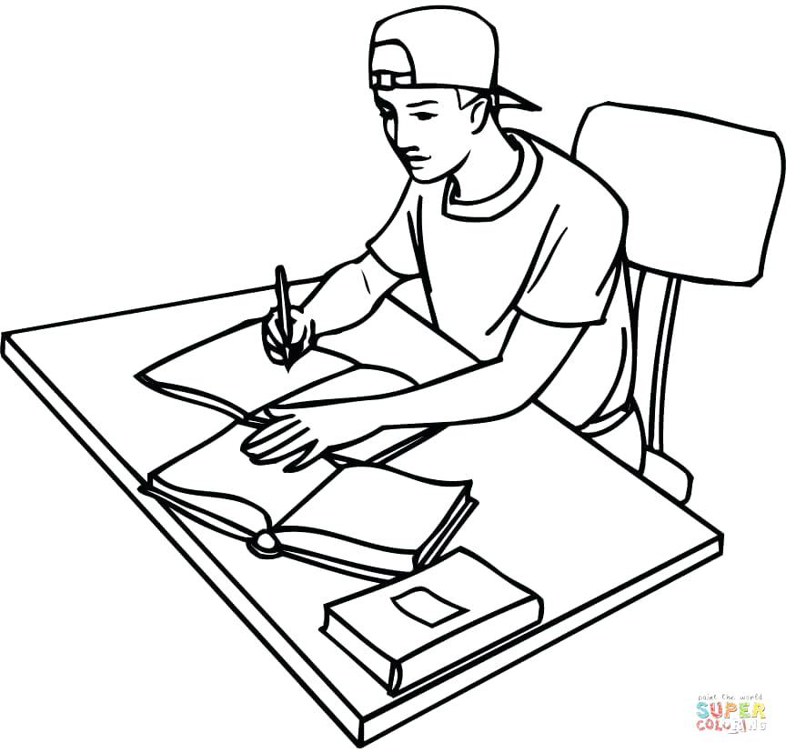 864x828 Childrens Coloring Pages Alphabet Office Chair Coloring Page
