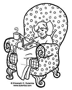241x300 Coloring Page Tuesday