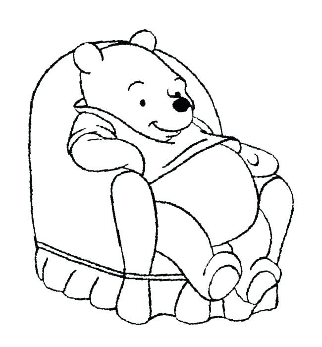 650x700 The Pooh Coloring Page Cute Pooh Coloring Pages Pooh