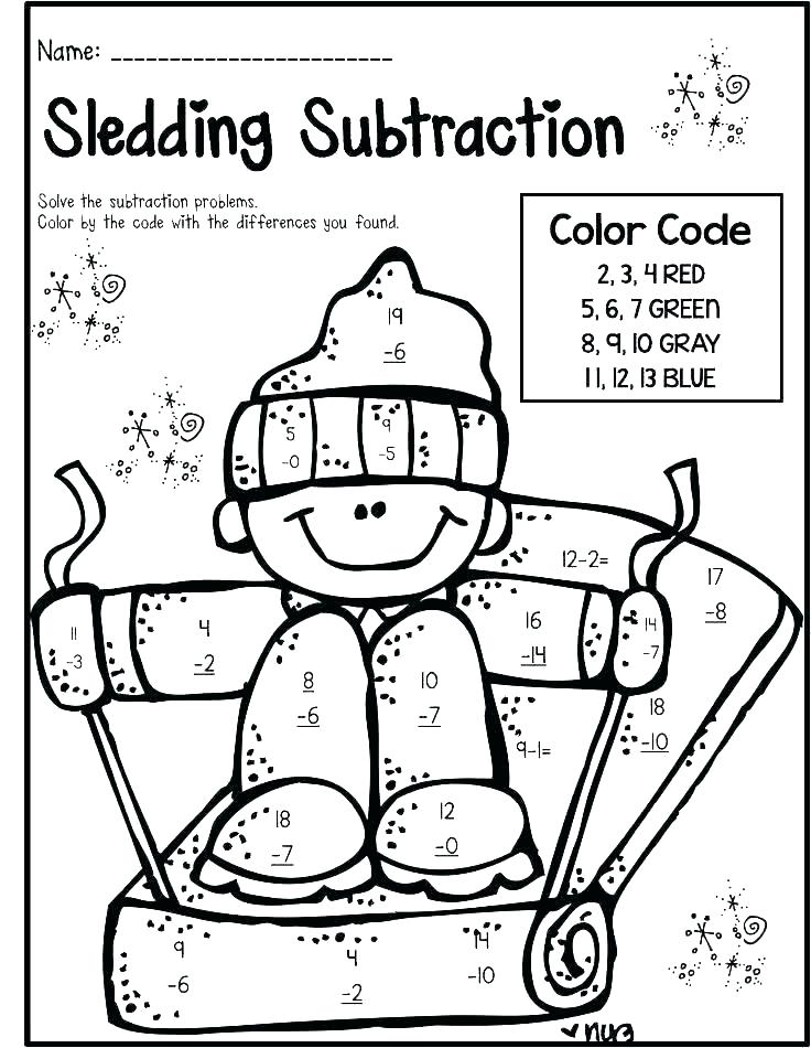 Chalk Coloring Pages