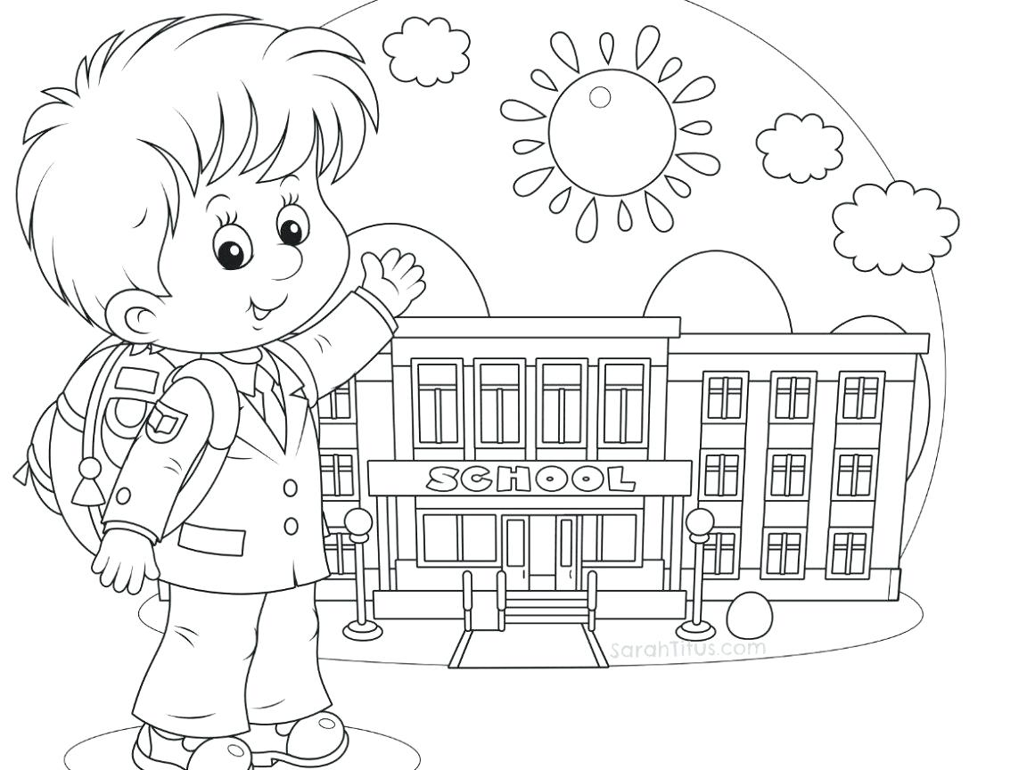 1152x864 Coloring Page School Coloring Page Click The Student With Books