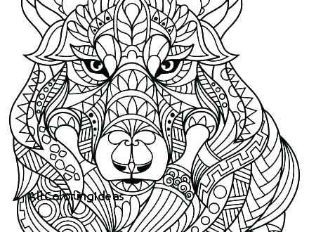 440x330 Animal Coloring Pages For Adults Fresh Challenging Coloring Pages