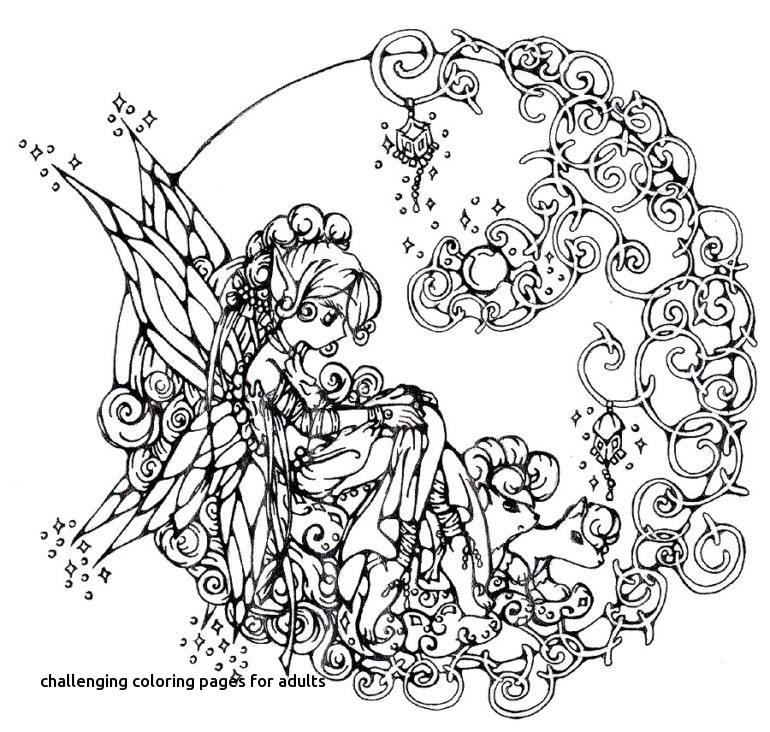 770x732 Challenging Coloring Pages For Adults Coloring Pages For Adults