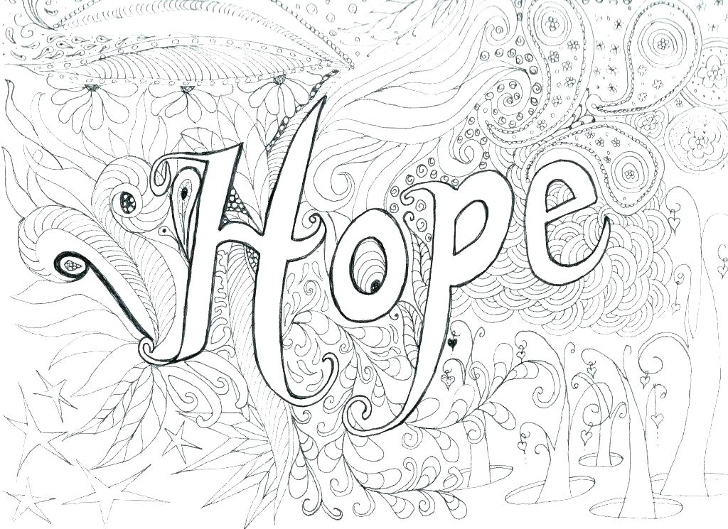 1024x745 Difficult Coloring Page