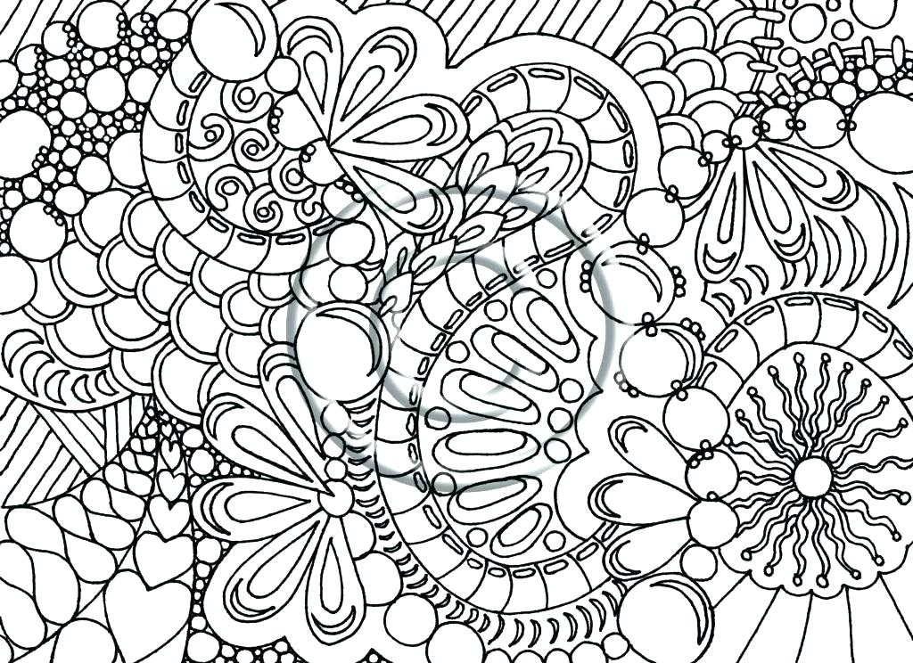 1024x744 Difficult Mandala Coloring Pages Kids Coloring Difficult Coloring
