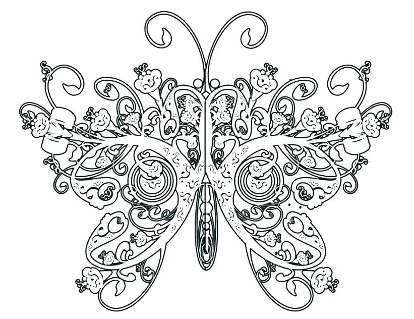 821x632 Hard Coloring Pages Difficult Abstract Coloring Pages Another