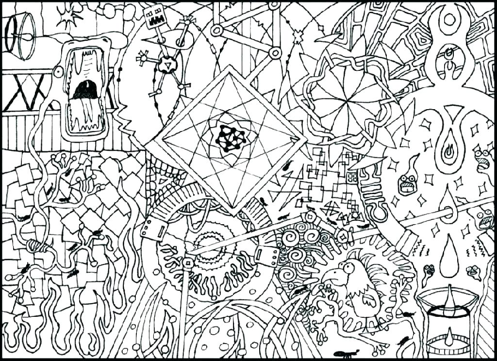 1024x744 Printable Hard Coloring Pages Hard Coloring Pictures Difficult