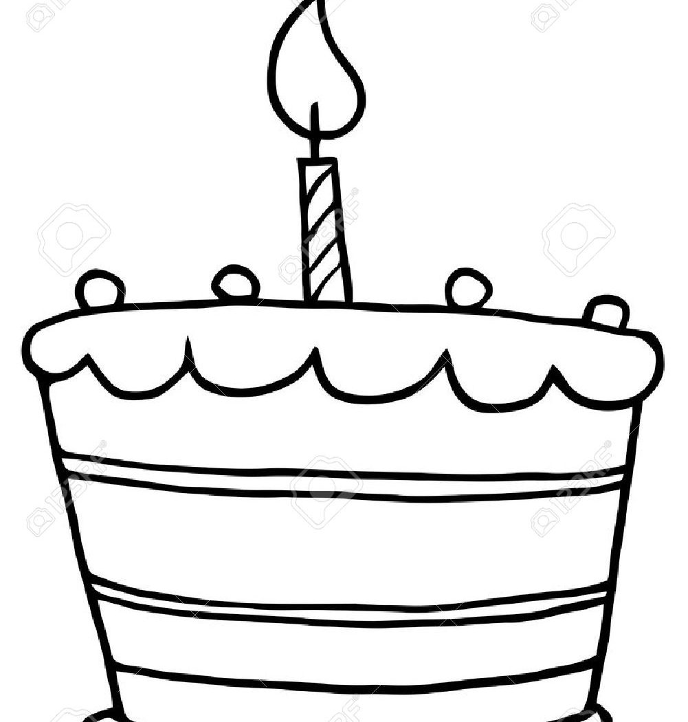 1001x1050 Cupcake With Candle Coloringage Great Birthday Fresh Learn Colors