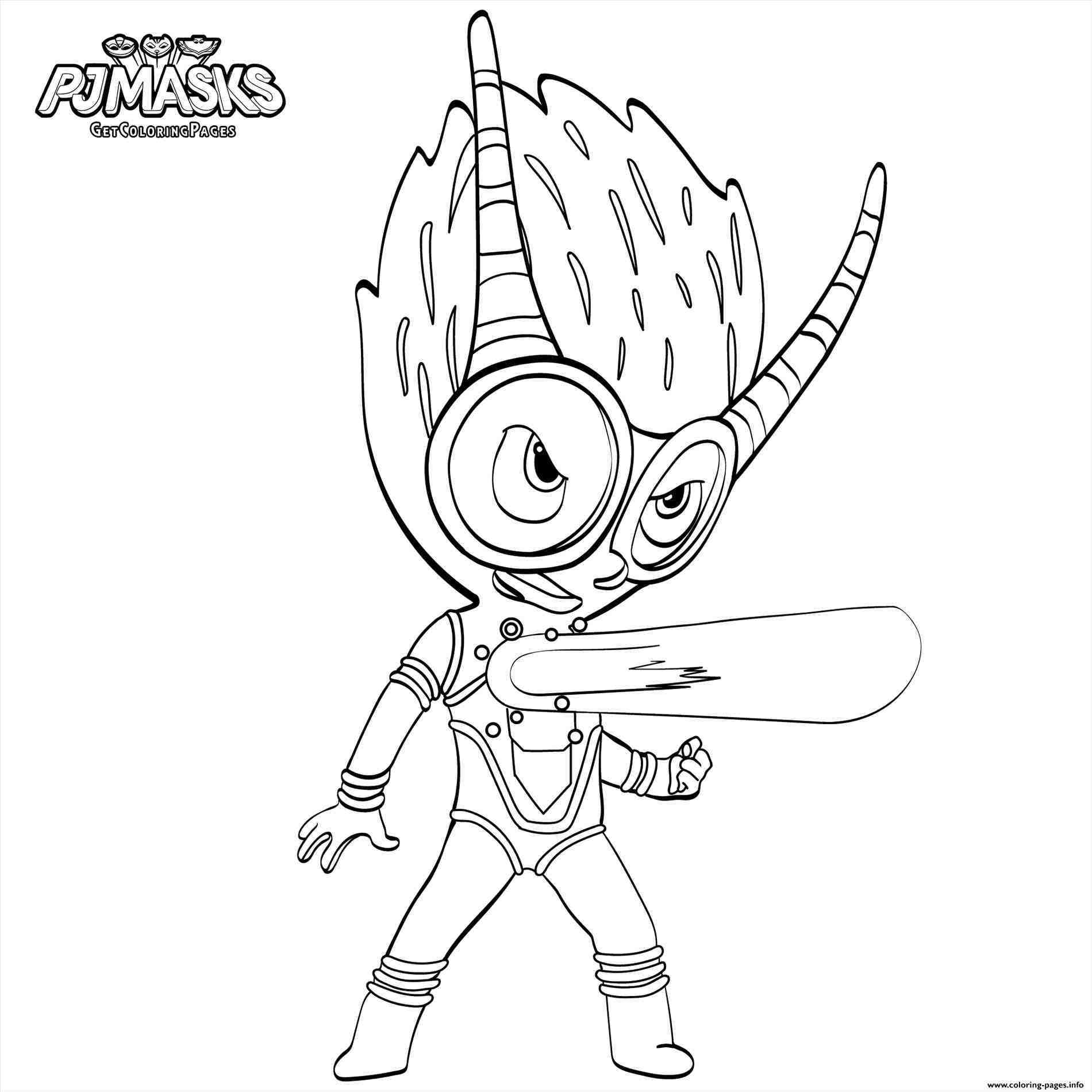 1900x1900 Coloring Pages For Kids Pj Masks