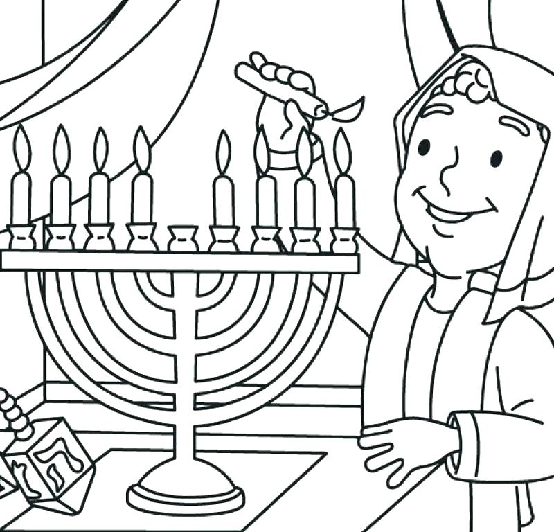 800x768 Chanukah Coloring Sheets Hanukkah Menorah Coloring Sheets
