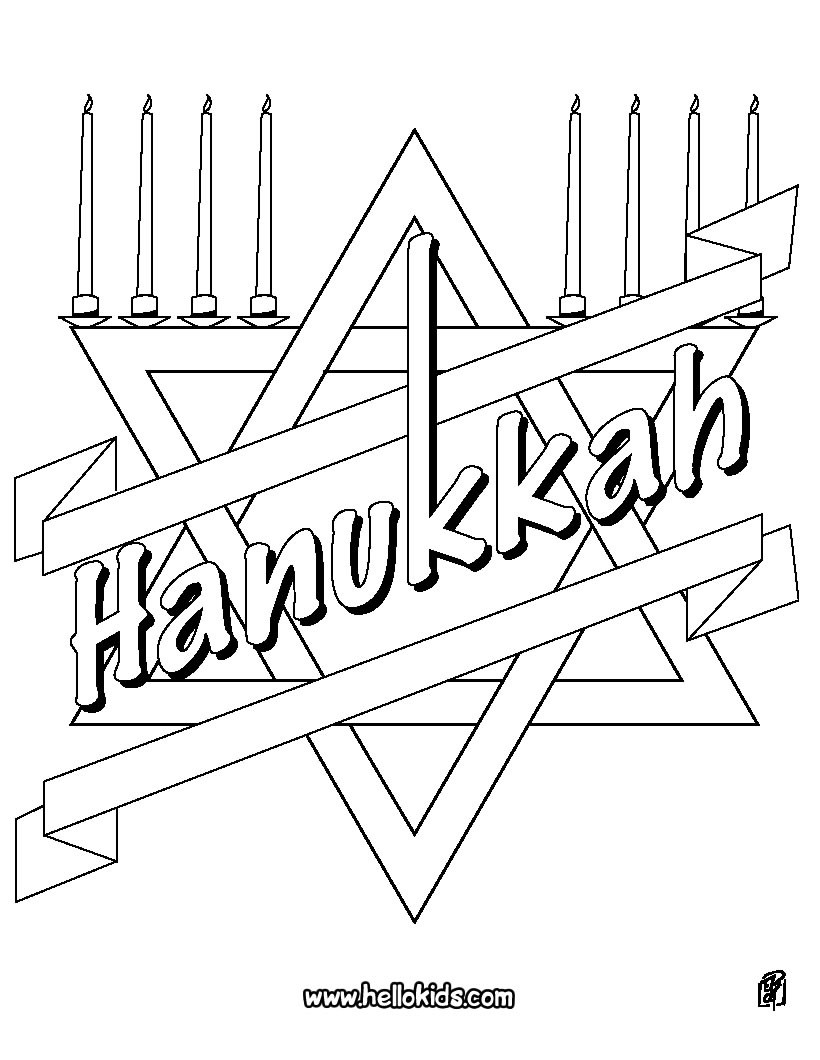820x1060 Hanukkah Coloring Pages