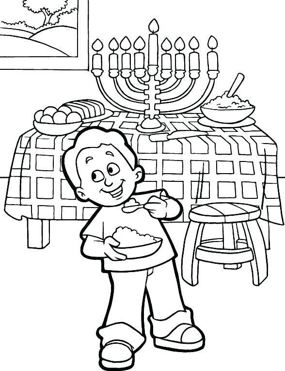 588x765 Chanuka Coloring Pages Of The Best Most Artful Coloring Pages