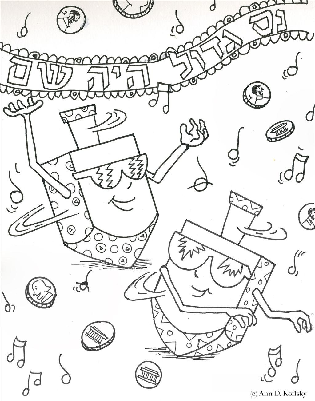 1024x1304 Gigantic Hannukah Coloring Pages Happy Chanukah Page