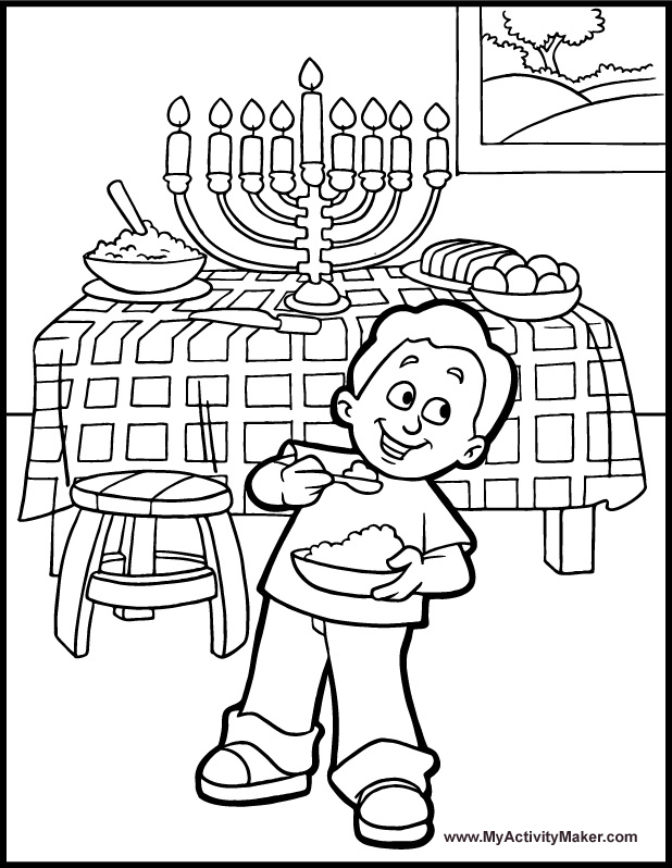 618x798 Innovative Ideas Chanukah Coloring Pages Http Azcoloring Com