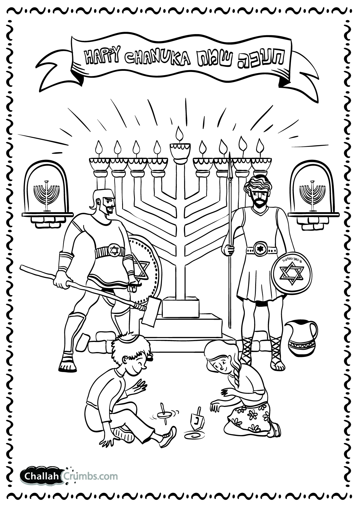 1240x1754 Chanukah Coloring Pages To Print Logo And Design Ideas