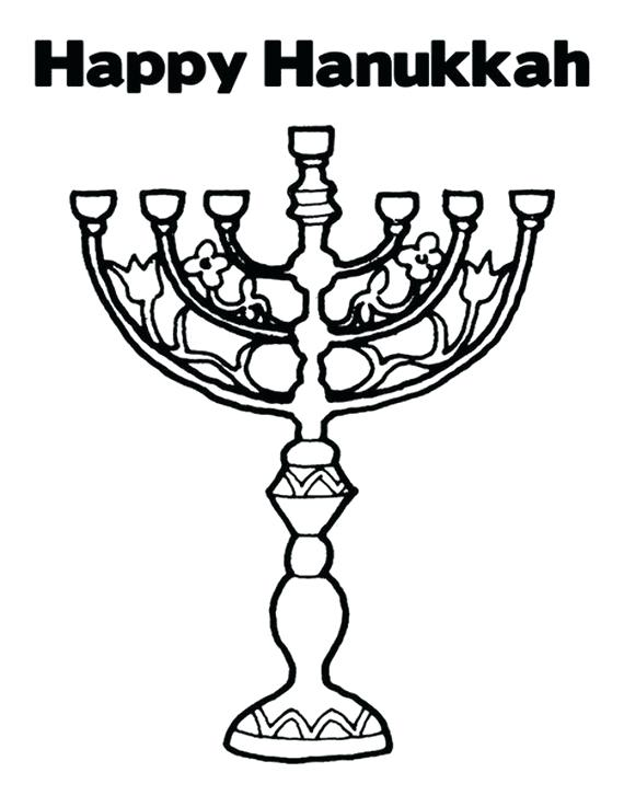 570x737 Coloring Chanuka Coloring Pages Best A Images On For Chanukah