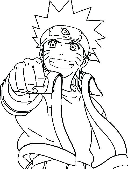 494x650 Coloring Pages Naruto And In Coloring Page Anime Coloring Pages