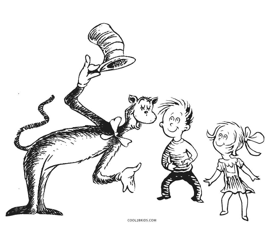 1024x868 Free Printable Dr Seuss Coloring Pages For Kids