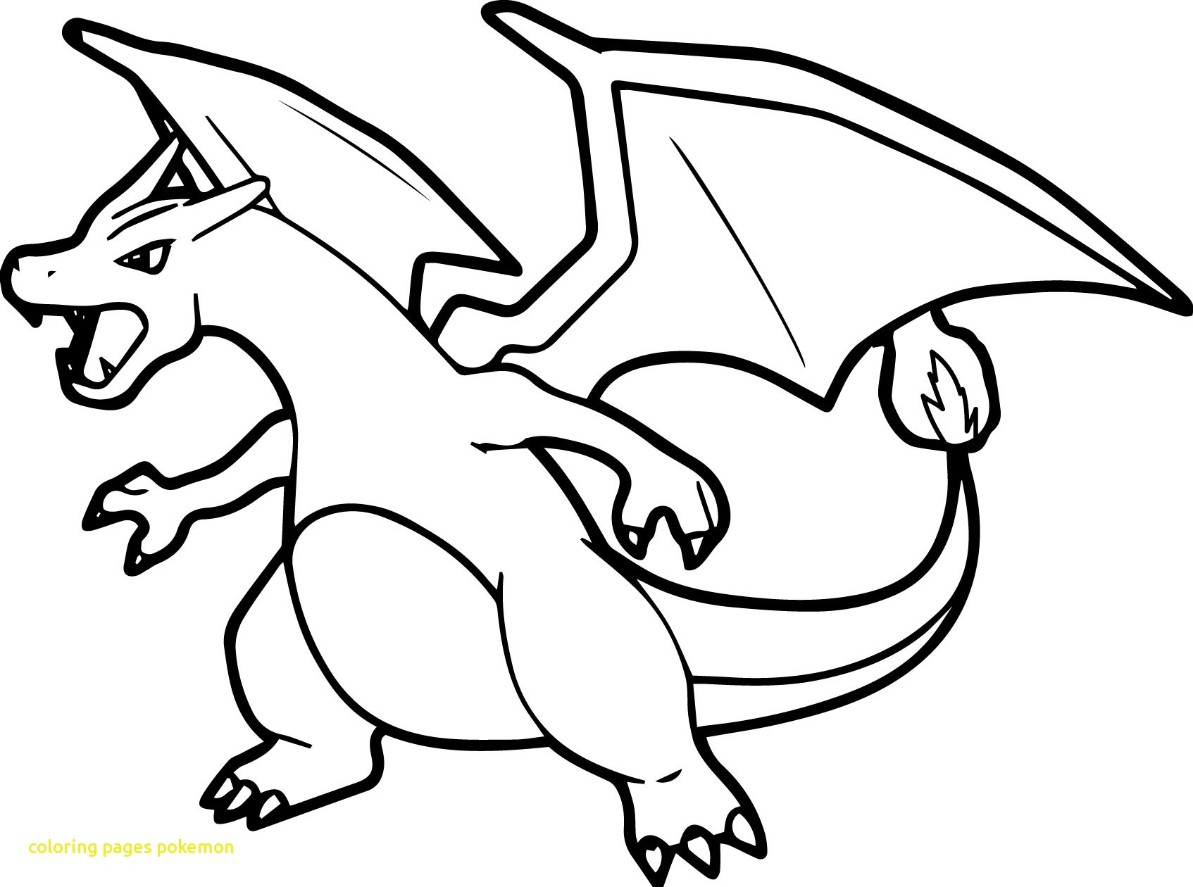 1694x1260 Coloring Pages Pokemon With Pokemon Coloring Pages Mega Charizard