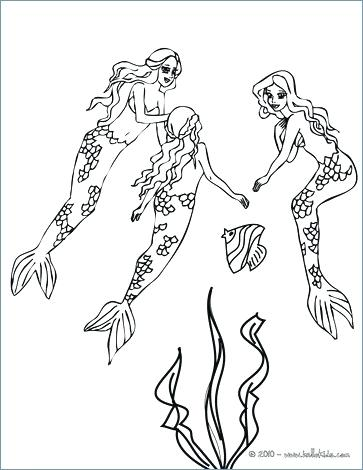 363x470 Hello Kitty Cute Mermaid Coloring Pages Beautiful Coloring Pages