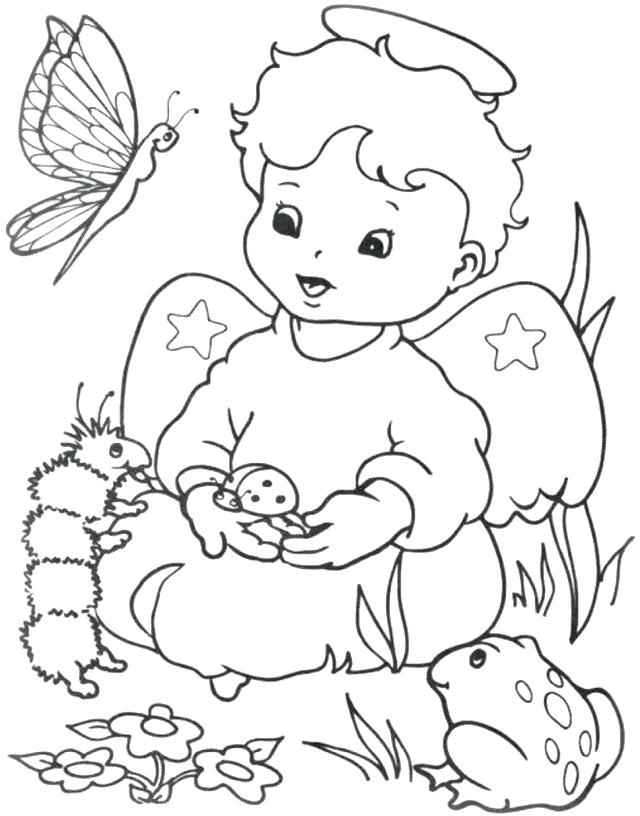 640x816 Charlie And The Chocolate Factory Coloring Pages Angels Coloring