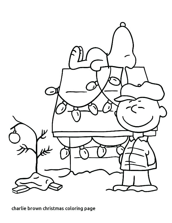 600x776 Charlie Brown Christmas Coloring Pages Snoopy Coloring Pages