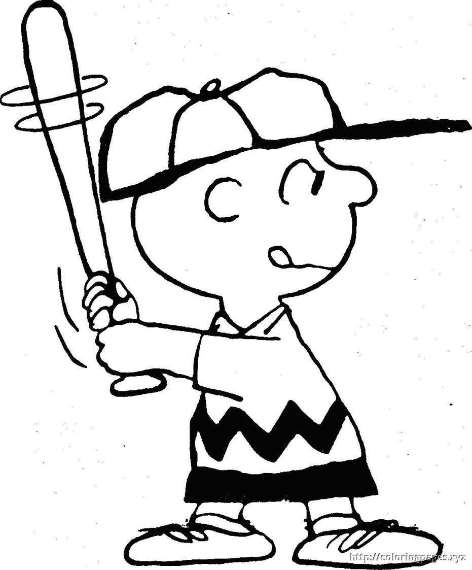 931x1123 Charlie Brown Coloring Pages