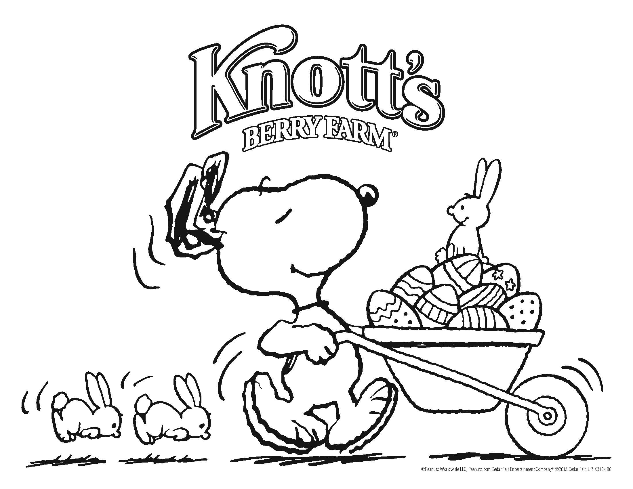 2200x1700 Snoopy Easter Coloring Pages Getcoloringpages Free