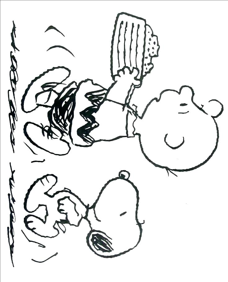 736x912 Snoopy Coloring Pages