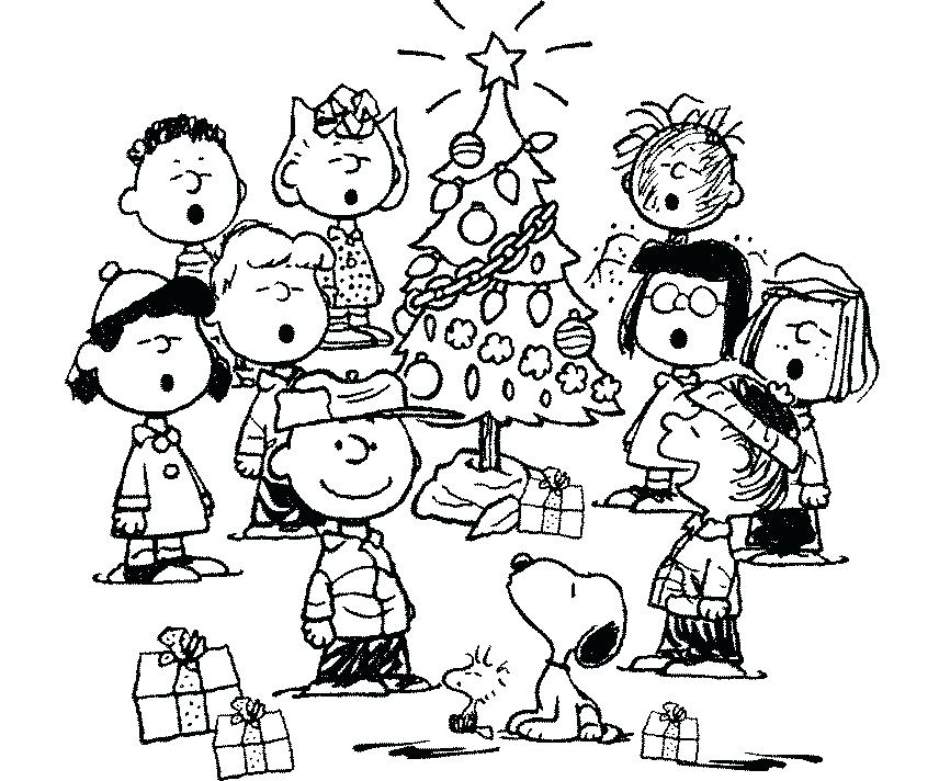 856x712 Charlie Brown Christmas Coloring Pages Charlie Brown Coloring