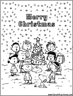 236x309 Charlie Brown Christmas Coloring Pages To Print Click To See