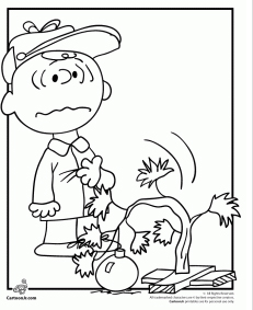 231x283 A Charlie Brown Christmas Coloring Activity