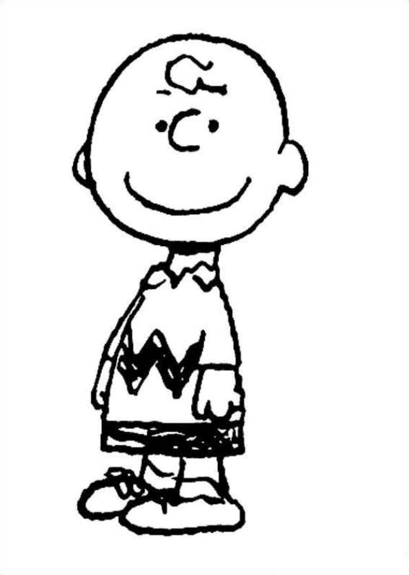 593x832 Innovative Ideas Charlie Brown Coloring Pages A Charlie Brown