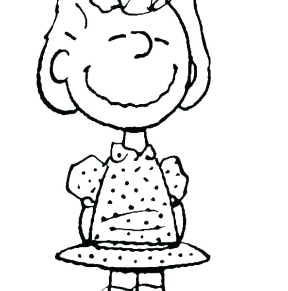 593x600 Charlie Brown Halloween Coloring Pages Charlie Brown Coloring Page
