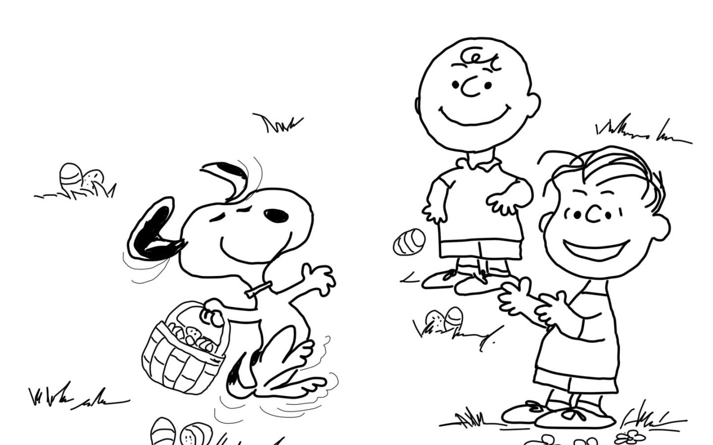 1440x900 Clever Charlie Brownng Pages Halloween Printable Free Christmas