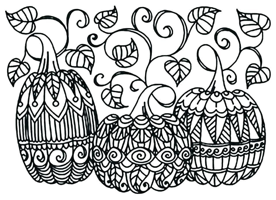 960x695 Preschool Pumpkin Coloring Pages Free Free Printable Halloween