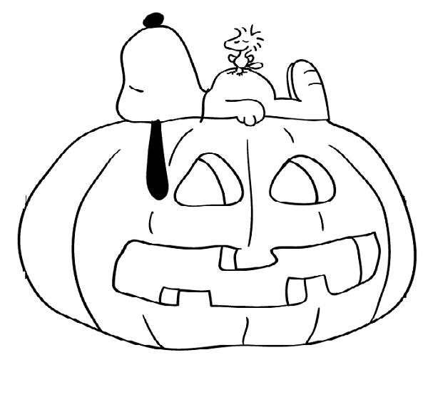 600x578 Snoopy Halloween Coloring Pages Halloween Snacks