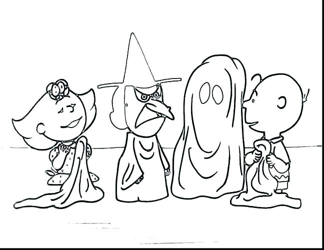 648x500 Peanuts Halloween Coloring Pages Peanuts Coloring Pages Peanuts