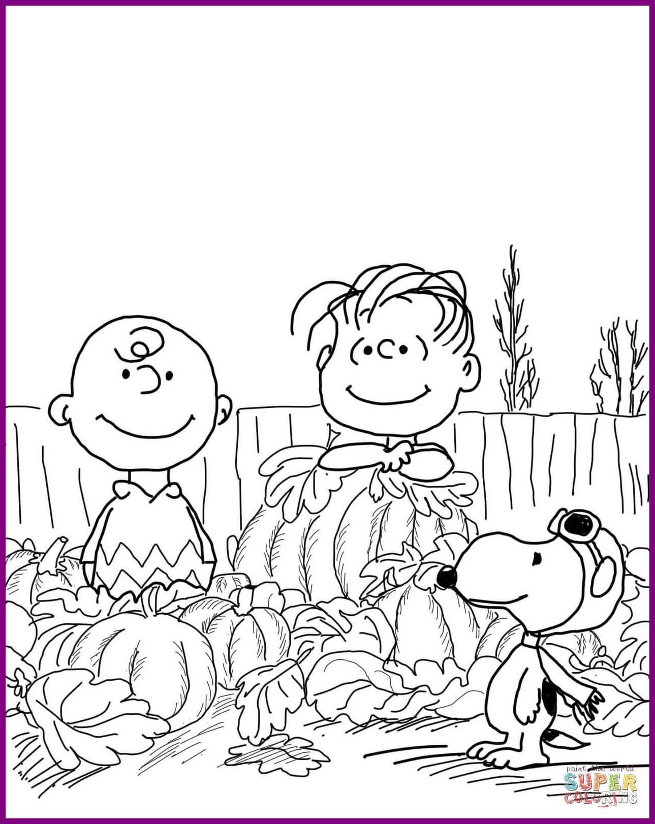 1289x1622 Astonishing Charlie Brown Halloween Coloring Page Printable