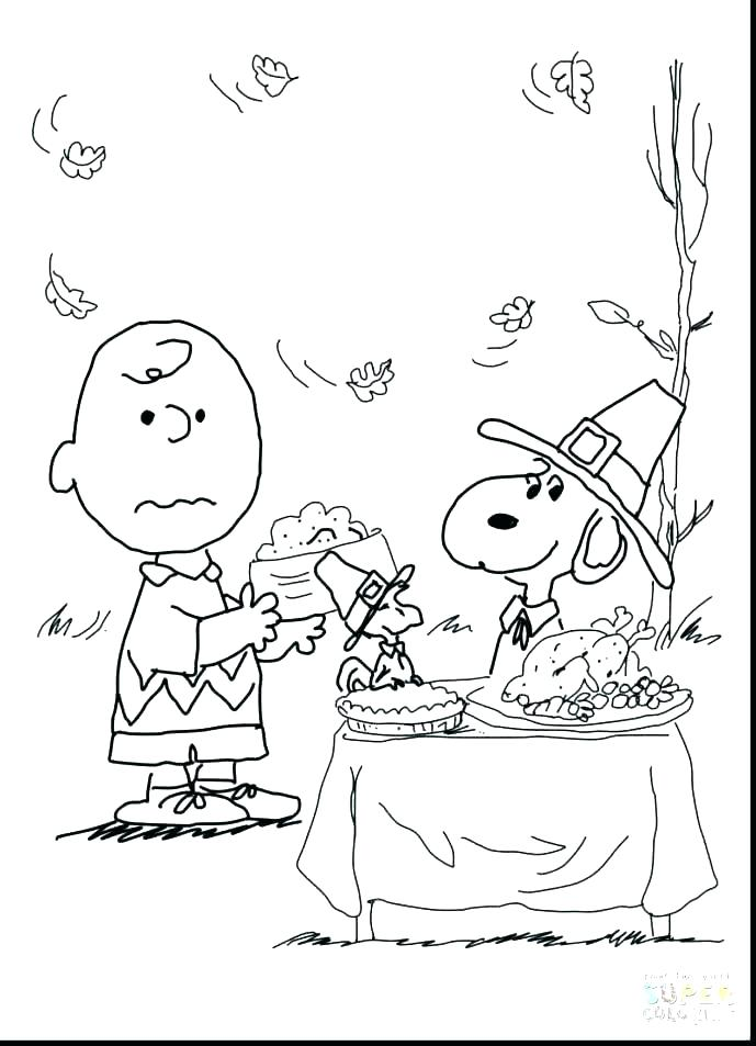 689x953 Charlie Brown Thanksgiving Coloring Pages Free Coloring Pages