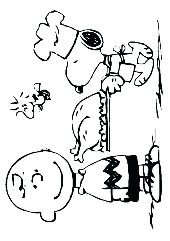 595x842 Charlie Brown Thanksgiving Coloring Pages Snoopy And Charlie Brown