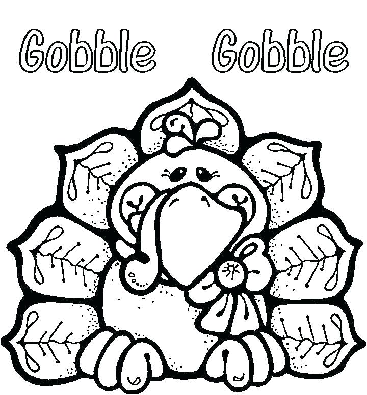 720x776 Thanksgiving Turkey Coloring Pages Printables Thanksgiving